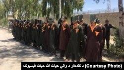 قندھار جیل میں بند طالبان اور عسکریت پسند قیدی۔ فائل فوٹو