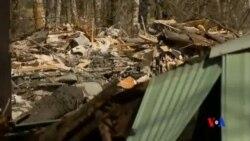 2014-03-25 美國之音視頻新聞: 美國泥石流造成14人喪生百多人失蹤