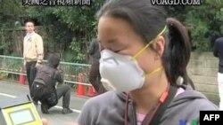 Перевірка рівня радіації в Японії