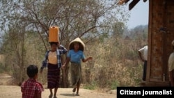 Water shortage in Burma