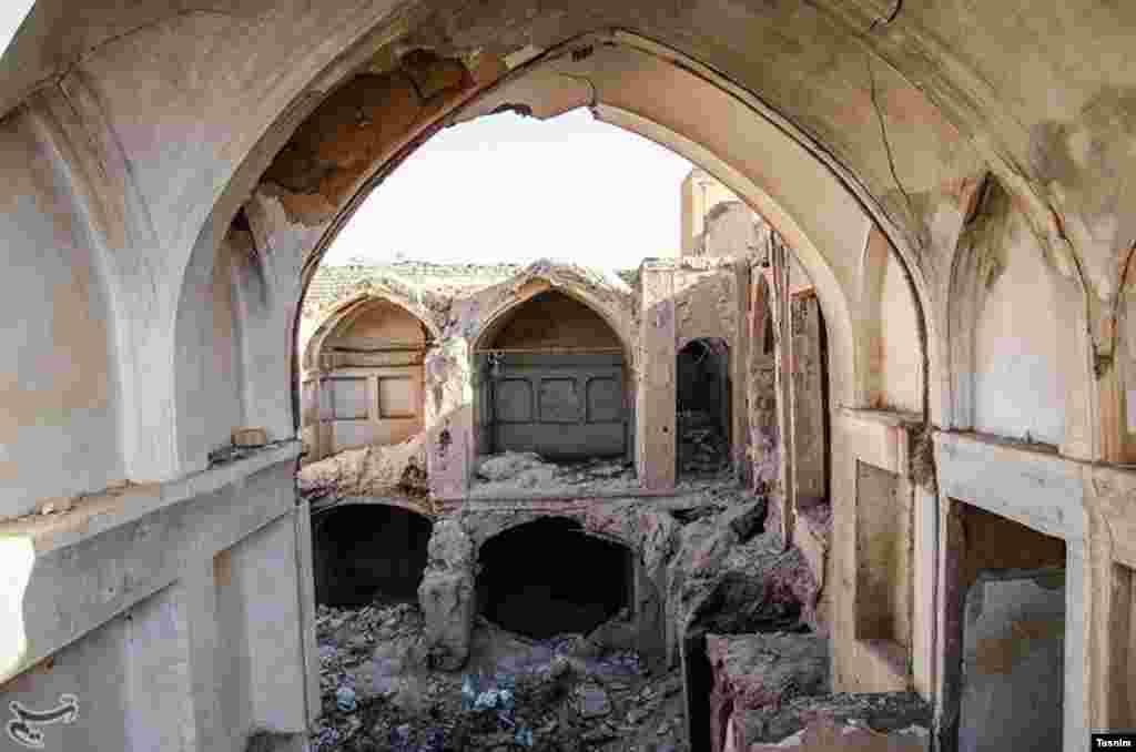 خانه های تاریخی کاشان در آستانه نابودی عکس: احسان رسولی