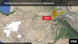 Kohistan District, Badakhshan Province in Afghanistan
