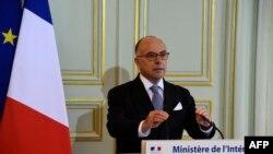 French Interior minister Bernard Cazeneuve gives a press conference on Nov. 21, 2016 in Paris.