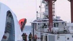 2012-01-15 粵語新聞: 意大利觸礁遊輪上救出第三名生還者