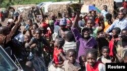 Des déplacés au Sud Kivu (Reuters)