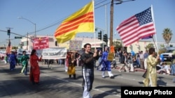 Members of the Vietnamese-American LGBT community march in the Orange County, California, Tet parade in 2010.