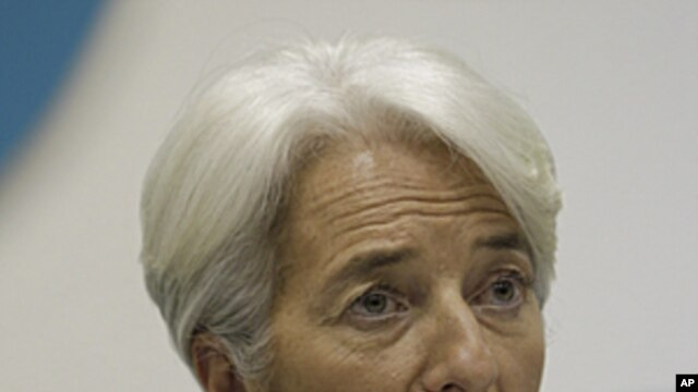 IMF Managing Director Christine Lagarde (file).