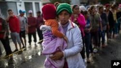 Мігранти на території Мексики