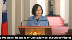 Presiden Taiwan Tsai Ing-wen (Foto: dok).