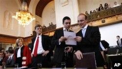 Грција ја аргументираше својата одбрана во Хаг