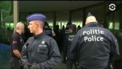 Лидеров стран НАТО в Брюсселе встречают акции протеста