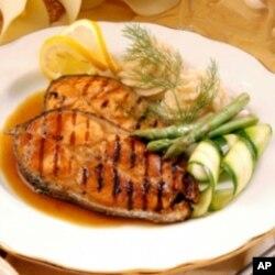 ປາ salmon ຊຶ່ງປີ້ງຫລືອົບເອົານັ້ນ ຖືວ່າ ຖືກປຸງແຕ່ງຢ່າງຖືກວິທີ