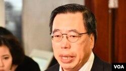 立法會主席梁君彥。(美國之音湯惠芸)