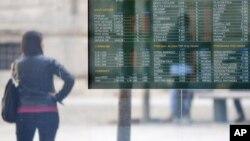 Европските и американските акции опаднаа