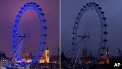 London tokom obeleževanja Sata planete