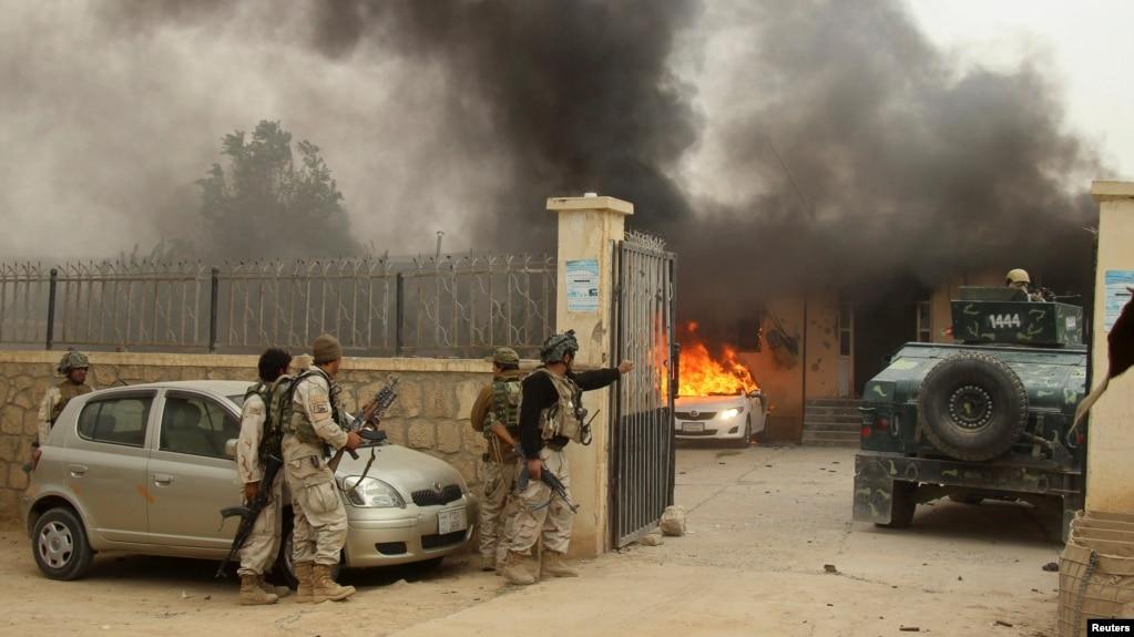 Kunduz: Taliban attack  17 Afghan police officers died