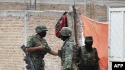 Lực lượng quân sự Mexico tham gia vào chiến dịch chống lại những tập đoàn ma túy