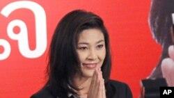 태국 최초의 여성 총리로 승인될 예정인 잉락 친나왓