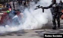 Al menos 20 personas han muerto en Colombia a manos de agentes del Estado durante el control de las protestas, denunció la ONG Human Rights Watch. Foto tomada de redes sociales.