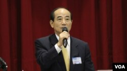 资料照:台湾前立法院长王金平