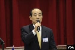 立法院长王金平 (美国之音杨明)
