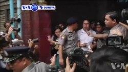 VOA60 Duniya: A Kasar Myanmar An Yanke Hukuncin Daurin Shekaru Bakwai Akan Wasu Yan Jaridu Biyu Na Reuters