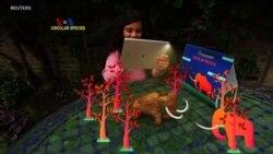 Mengajarkan Siklus Karbon lewat Mainan Mammoth Realitas Tertambah
