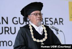 Ketua Dewan Guru Besar UGM, Prof. Koentjoro. (Foto: Humas UGM)