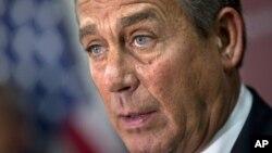 John Boehner dijo que el presidente Barack Obama tiene ahora la oportunidad de cooperar en el asunto tal y como ofreció.