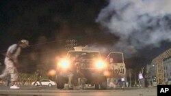 전투가 벌어지고 있는 트리폴리