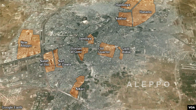 Aleppo Neighborhoods