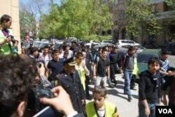 Neft Akademiyasının qarşısında akdiya - 30.04.2013-cü il