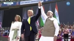 Donald Trump est arrivé en Inde