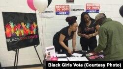 Black Girls Vote là một tổ chức phi đảng phái có mục tiêu nâng cao nhận thức trong giới trẻ nữ người Mỹ gốc Phi về tầm quan trọng của việc tham gia chính trị.