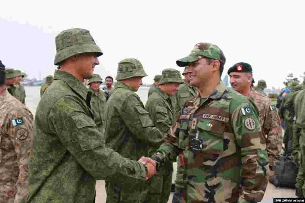 پاکستان اور روس کی بری افواج کے درمیان ہونے والی ان مشقوں کا مقصد دونوں ممالک کے درمیان دفاعی تعاون کو مزید بڑھانا ہے۔
