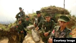 বাংলাদেশ সীমান্তে মিয়ানমার সেনা মোতায়েন করেছে