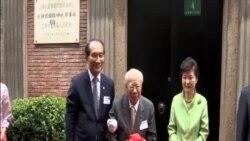 朴槿惠訪問上海 國內支持率上升