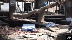 지난 2일 나이지리아 마이두구리 시장에 폭탄 테러가 발생했다. (자료사진)