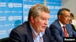 Bác sĩ Mike Ryan, người đứng đầu chương trình khẩn cấp của WHO tại cuộc họp báo vể virus corona ở Geneva,ngày 6/2/2020.