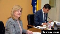 Jelka Miličević, ministrica finansija Vlade FBiH. (Fotografija preuzeta sa web stranice Vlade FBiH.)
