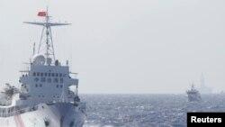中国海警船只在南中国海巡逻 (2014年5月14日)