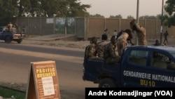 Le stade municipal du 7e arrondissement de ville de N'Djamena, Tchad, le 17 novembre 2016. (VOA/André Kodmadjingar)