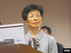 台湾陆委会主委张小月