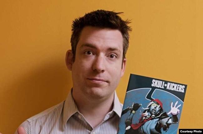 Comic book author Jim Zub.