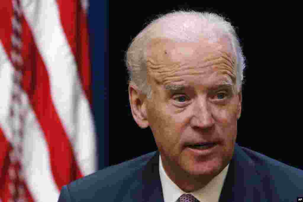 Vice President Joe Biden: ``(The plane) apparently has been shot down - shot down, not an accident, blown out of the sky.''