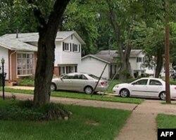 华盛顿郊区的民宅