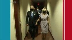 Sekirite a ogmante nan kapital federal ameriken an Washington DC 48è avan seremoni prestasyon sèman Joe Biden