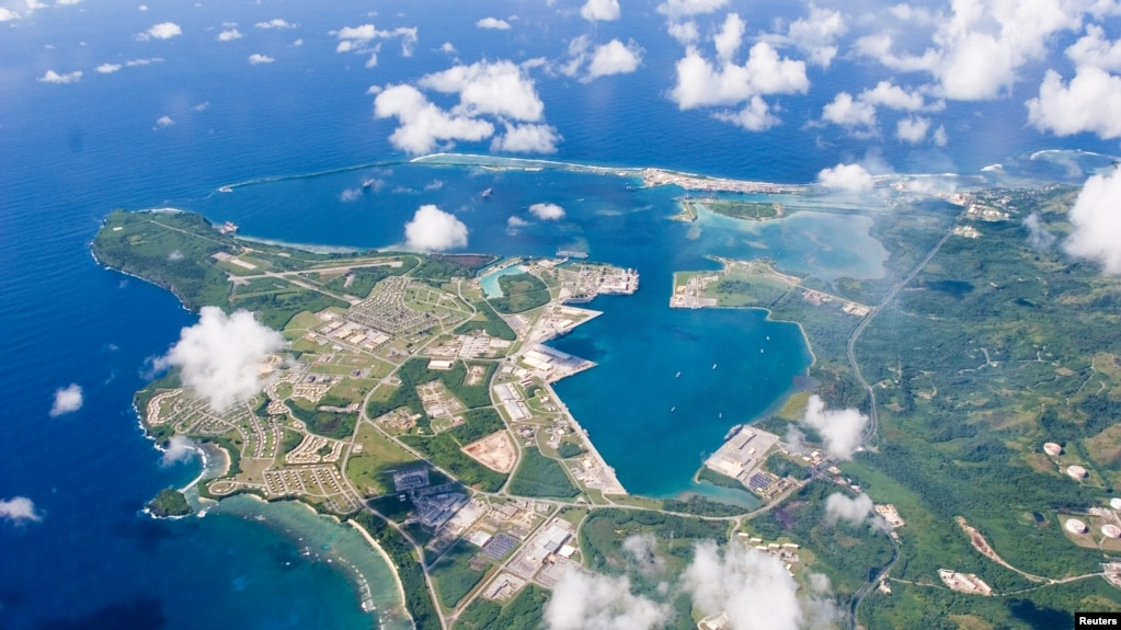 關島美國海軍基地(2006年9月20日)。