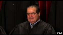 .S. Supreme Court Justice Antonin Scalia