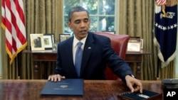باراک اوباما در این یادداشت می گوید که عرضه نفت در بازارهای جهانی به قدر کافی بالاست